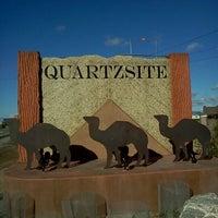 Photo taken at Town of Quartzsite by Samuel M. on 12/14/2011