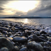 5/3/2012 tarihinde Sean C.ziyaretçi tarafından Alki Beach Park'de çekilen fotoğraf