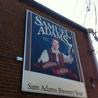 Снимок сделан в Samuel Adams Brewery пользователем Nick S. 4/17/2012