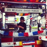 Foto diambil di South Melbourne Market oleh GirlBug pada 7/6/2012