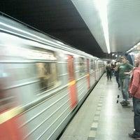 Снимок сделан в Metro =C= Nádraží Holešovice пользователем Zdeněk M. 5/8/2012