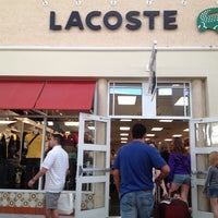 a556f53df Photo taken at Lacoste Outlet by Renato S. on 4 7 2012 ...