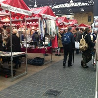 Photo taken at Old Spitalfields Market by Olga on 5/10/2012