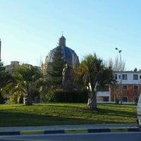 Снимок сделан в Monumento a Juan Pablo II пользователем Abogado Pamplona w. 2/3/2012