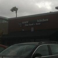 Foto diambil di Crow Burger Kitchen oleh Jordan D. pada 4/13/2012