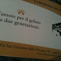"""Foto diambil di Gelateria """"la Romana"""" oleh Sergio S. pada 5/31/2012"""