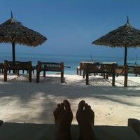 Photo taken at DoubleTree Resort by Hilton Hotel Zanzibar - Nungwi by deniz o. on 10/4/2011