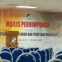 Foto diambil di Jabatan Ukur Dan Pemetaan Malaysia (JUPEM) oleh chrispin m. pada 6/1/2012
