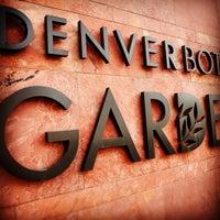 Foto tirada no(a) Denver Botanic Gardens por ArtJonak em 4/6/2012