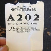 NC DMV Vehicle & License Plate Renewal - 815 Elm St