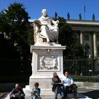 Снимок сделан в Humboldt-Universität zu Berlin пользователем Andreas H. 7/21/2012