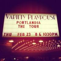 Снимок сделан в Variety Playhouse пользователем Rachel L. 2/25/2012