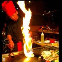 5/30/2012 tarihinde Mike S.ziyaretçi tarafından Ohjah Japanese Steakhouse Sushi & Hibachi'de çekilen fotoğraf