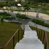 Снимок сделан в Punggol Waterway Park пользователем Steven T. 1/14/2012