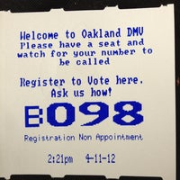 Oakland DMV Office - North Oakland - 61 tips