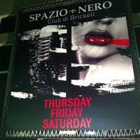 Das Foto wurde bei Spazio Nightclub von Gerardo M. am 7/31/2011 aufgenommen