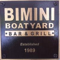 8/19/2012にKimmieがBimini Boatyard Bar & Grillで撮った写真