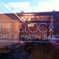 Снимок сделан в The Clock Bar пользователем Matt D. 3/6/2012