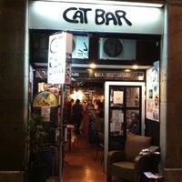 10/21/2011 tarihinde Piotr C.ziyaretçi tarafından CatBar'de çekilen fotoğraf