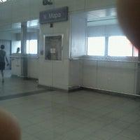 Foto tirada no(a) LRT 2 (V. Mapa Station) por ธวัชชัย cai em 10/2/2011