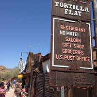 Photo taken at Tortilla Flat by Ron W. on 5/28/2012