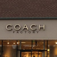 0be16f1c1405 Photo taken at Coach Factory Outlet by Frank B. on 5 26 2012 ...