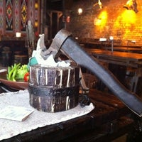 Снимок сделан в Первая львовская грилевая ресторация мяса и справедливости пользователем Svitlana 7/31/2011