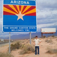 Photo taken at Arizona / Nevada State Line by Mondell M. on 7/29/2012