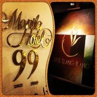 6/3/2012 tarihinde Ricky D.ziyaretçi tarafından Cafe Ilang-Ilang'de çekilen fotoğraf
