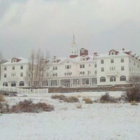 Снимок сделан в Stanley Hotel пользователем Amy S. 2/14/2012