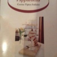 8/8/2012 tarihinde Luis R.ziyaretçi tarafından Pappardella'de çekilen fotoğraf