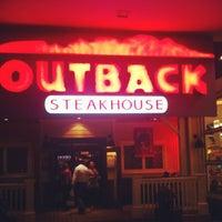 Снимок сделан в Outback Steakhouse пользователем Fabricio G. 8/28/2012