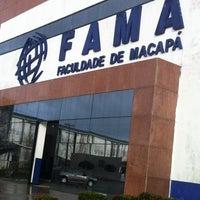 Foto tirada no(a) Faculdade de Macapá - FAMA por Thales M. em 3/15/2012