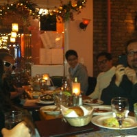 12/14/2011 tarihinde Avi W.ziyaretçi tarafından Tio Pepe Restaurant'de çekilen fotoğraf