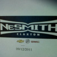 Nesmith Chevrolet Claxton Ga >> Nesmith Chevrolet Buick Gmc Inc 7334 Us Highway 280