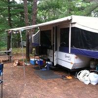 Das Foto wurde bei Cape Ann Campsite von Rich P. am 7/30/2011 aufgenommen