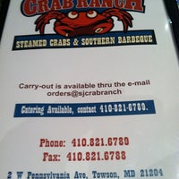 Foto diambil di S & J Crab Ranch oleh Mandy A. pada 9/9/2011