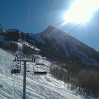 Photo taken at Crested Butte Mountain Resort by Michael F. on 1/25/2012