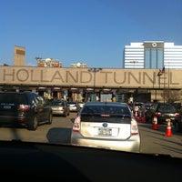 Holland Tunnel Toll Plaza Newport Jersey City Nj