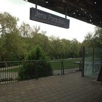 Das Foto wurde bei Bahnhof Jena Paradies von Philippe S. am 5/7/2012 aufgenommen