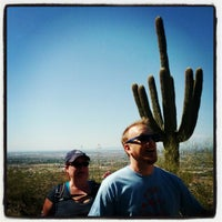 Photo taken at South Mountain Hiking Trails by Andrew D. on 4/16/2012