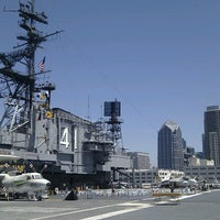 Photo taken at USS Midway Museum by kyora on 8/20/2012