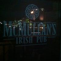 Снимок сделан в McMullan's Irish Pub пользователем Craig C. 4/9/2012