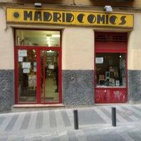 Foto tomada en Madrid Comics por Mikel S. el 2/5/2012