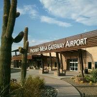 Снимок сделан в Phoenix-Mesa Gateway Airport (AZA) пользователем Vanessa G. 7/13/2012