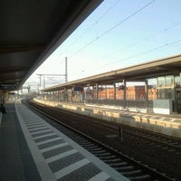 Foto diambil di Bahnhof Bad Wilsnack oleh Robert S. pada 4/13/2012