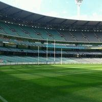 Das Foto wurde bei Melbourne Cricket Ground (MCG) von Michael S. am 3/30/2012 aufgenommen