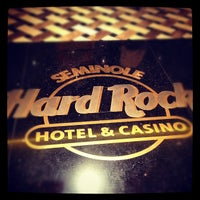 Foto diambil di Seminole Hard Rock Hotel & Casino oleh Mark S. pada 5/6/2012