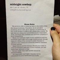 Foto tomada en Midnight Cowboy por Jasmin S. el 8/19/2012