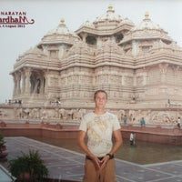 Foto tomada en Swaminarayan Akshardham por Robert S. el 8/4/2012